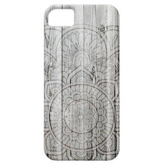 iPhone 6 Case Wooden Mandala iPhone Case Wood