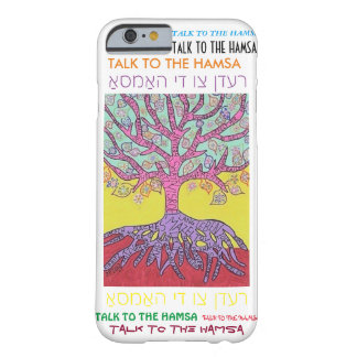 iPhone 6 case Yiddish Pink Tree of Life cell II