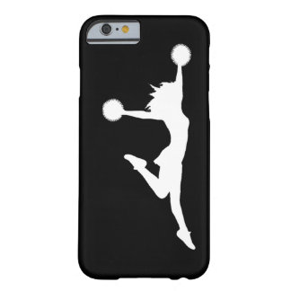 iPhone 6 Cheer 1 Silhouette White/Black Barely There iPhone 6 Case