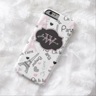iPhone 6 corazones de la torre Eiffel el | del Funda De iPhone 6 Barely There