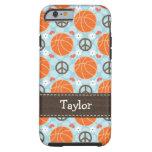iPhone 6 Cov duro del baloncesto del amor de la Funda Para iPhone 6 Tough