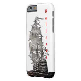 iPhone 6 cover with Sailboat Pen and Ink Drawing
