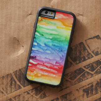 Iphone 6 creyones derretidos acuosos funda de iPhone 6 tough xtreme