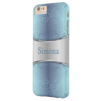 iPhone 6 damascos abstractos apenas florales más Funda De iPhone 6 Plus Barely There