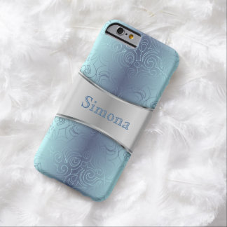 iPhone 6 damascos abstractos florales de Barely Funda De iPhone 6 Barely There