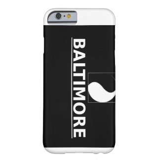 iPhone 6 de Baltimore Ying-Yang Funda De iPhone 6 Barely There