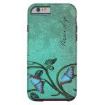 iPhone 6 de los pares de la mariposa del trullo