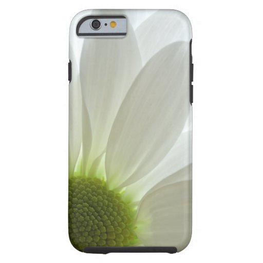 iPhone 6 de los pétalos de la margarita blanca Funda De iPhone 6 Tough