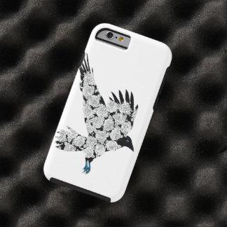 iPhone 6 del ejemplo del tatuaje del cuervo y de Funda De iPhone 6 Tough