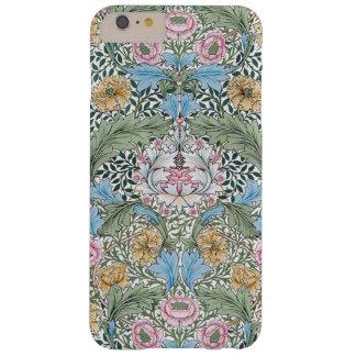 iPhone 6 del estampado de flores de William Morris Funda Barely There iPhone 6 Plus