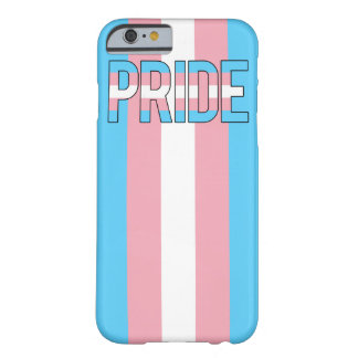 iPhone 6 del orgullo del transexual Funda De iPhone 6 Barely There