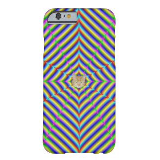 iPhone 6     Dizzy Geometry + or - Cat Barely There iPhone 6 Case