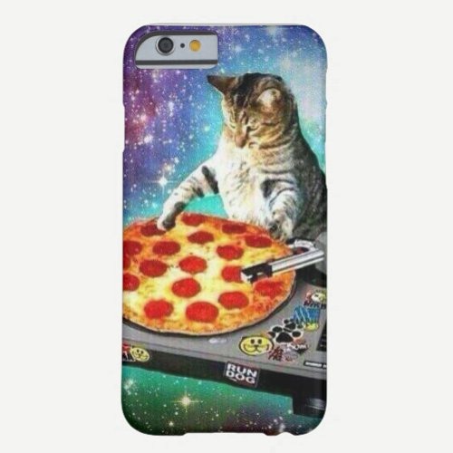 Iphone 6 DJ Pizza Cat Case