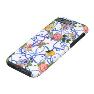 iPhone 6 flores y cintas bonitas Funda Para iPhone 6 Tough