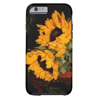 iPhone 6 girasoles del caso