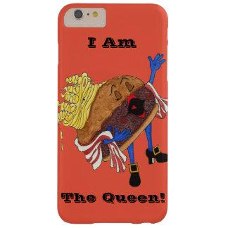 "iPhone 6"" hamburguesa Bernice, reina!"" Caso Funda Barely There iPhone 6 Plus"