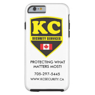 Iphone 6-KC Security Services phone case! Tough iPhone 6 Case