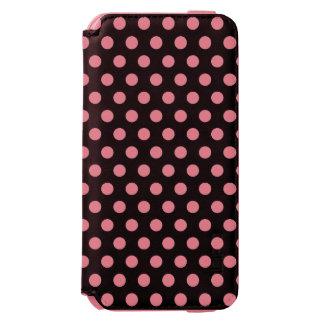 iPhone 6 lunares de la caja de la cartera Funda Billetera Para iPhone 6 Watson