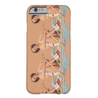 iPhone 6 mujeres del casePinup que reman el iPhone