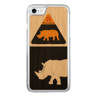 iPhone 6 of rhinoceros cool & modern Carved iPhone 8/7 Case