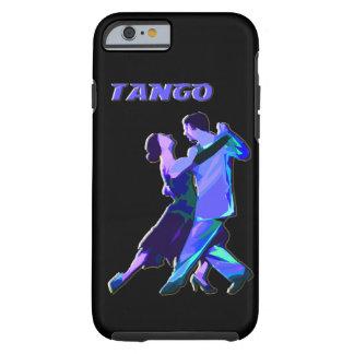 iPhone 6 pares azules del tango del caso Funda Para iPhone 6 Tough