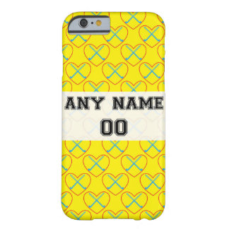 iPhone 6, Personalized Field Hockey Case Barely There iPhone 6 Case