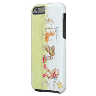 Iphone 6 phone case woodland march illustration