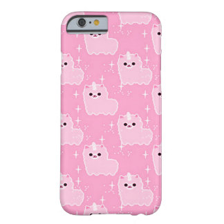 iPhone 6 Pink Fluffy Unicorn Sparkles Barely There iPhone 6 Case