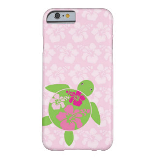 iPhone 6 Pink Hawaiian Honu (Sea Turtle) Case Barely There iPhone 6 Case