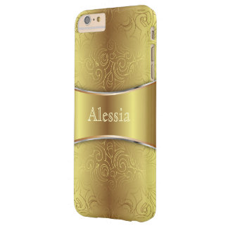 iPhone 6 Plus Case Barely Floral Abstract Damasks