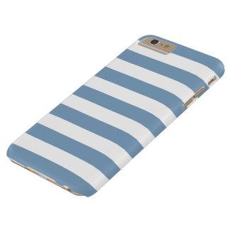 iPhone 6 Plus Case - Dusk Blue Bold Stripes