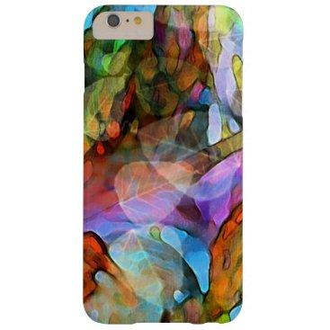 iPhone 6 Plus Case Nature Art in Rainbow Colors
