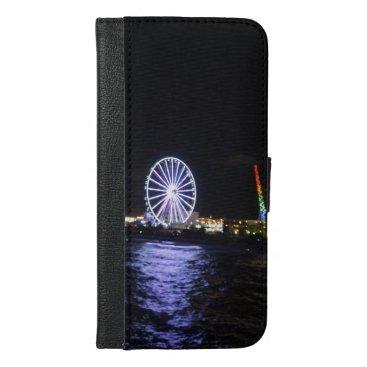 iPhone 6 plus case Ocean carnival scene Colors