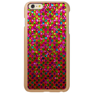 iPhone 6 Plus Case Polka Dot Sparkley Jewels Incipio Feather® Shine iPhone 6 Plus Case