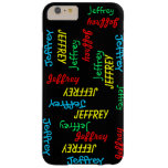 iPhone 6 Plus Case, Repeating Names, Personalized iPhone 6 Case