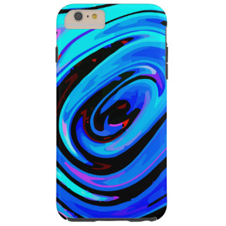 iPhone 6 Plus Case Tough Protective Feeling Blue