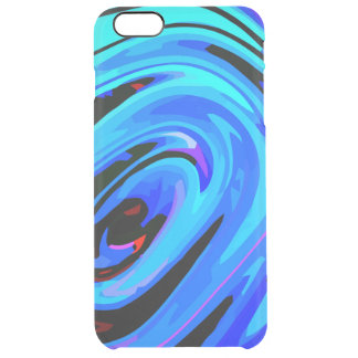 iPhone 6 Plus Case Ultra Slim Feeling Blue Design Uncommon Clearly™ Deflector iPhone 6 Plus Case
