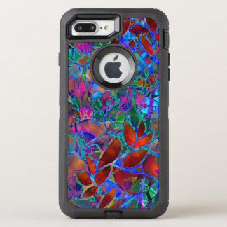 iPhone 6 Plus Floral Abstract Stained Glass