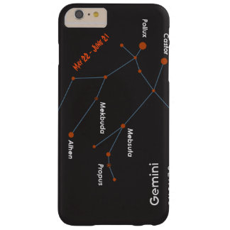 Iphone 6 Plus Gemini (universal) CaseCover Barely There iPhone 6 Plus Case