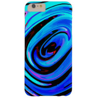 iPhone 6 Plus Protective Case Feeling Blue Design Barely There iPhone 6 Plus Case