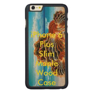 iPhone 6 Plus Slim image Carved Maple iPhone 6 Plus Slim Case