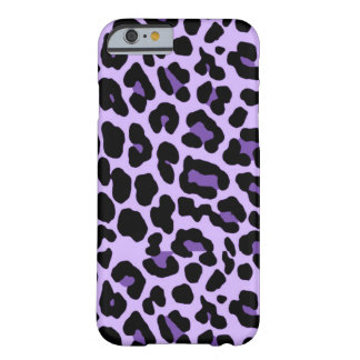 iPhone 6 Purple Cheetah Print Case Barely There iPhone 6 Case