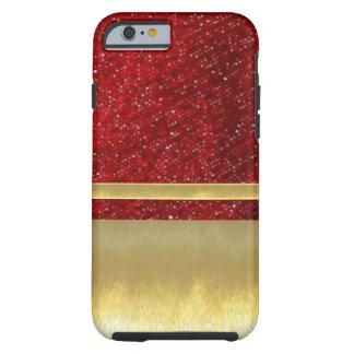 iPhone 6 Slim Shell Gold Design Case Tough iPhone 6 Case