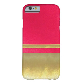 iPhone 6 Slim Shell Gold Design Case Barely There iPhone 6 Case