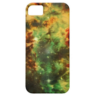 iPhone 6 space case- green galaxy stars tie dye iPhone SE/5/5s Case