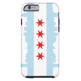iPhone 6 Tough™ de la bandera de Chicago Funda Resistente iPhone 6
