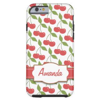 iPhone 6 Tough™ de las cerezas dulces Funda De iPhone 6 Tough