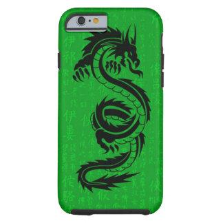 iPhone 6 Tough™ del dragón verde Funda De iPhone 6 Tough