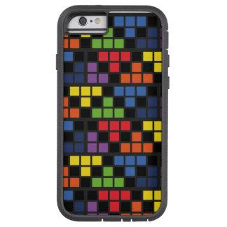iPhone 6, Tough Xtreme Pixel art pattern 001 Funda Para iPhone 6 Tough Xtreme