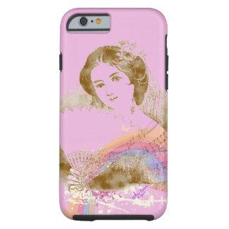 iPhone 6 ToughCase de señora Pink de la fan del Funda Resistente iPhone 6